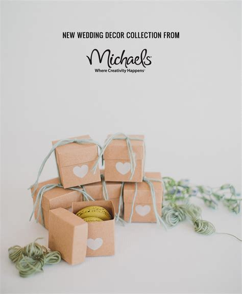 new wedding decor collection from michaels green wedding