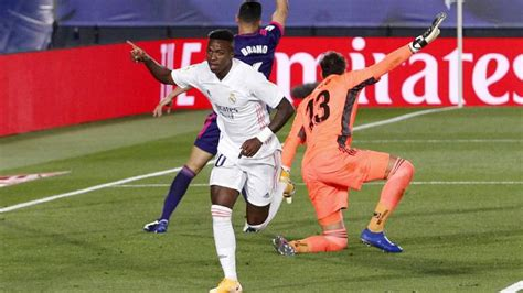 Vinicius scores winner for Madrid as they go joint top of ...