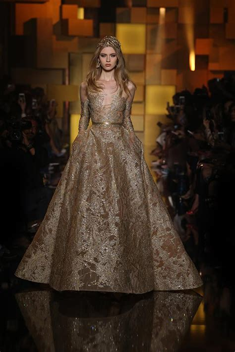 Heavy Embroidery Work Elie Saab  Dressesllection