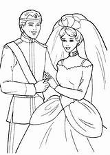 Coloring Wedding Pages Printable sketch template