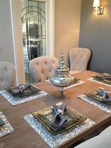 best 25 dining table settings ideas on pinterest place With dining room table setting ideas