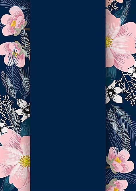 symmetrical pink plant flowers wedding invitations