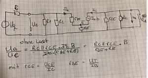 Transistor Berechnen : verst rkung aus kleinsignalersatzschaltbild ~ Themetempest.com Abrechnung
