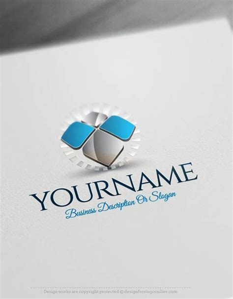 Creator Companies by Create Your Own 3d Logo Free Abstract 3d Logo Templates