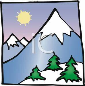 Snow Mountain Clipart - Clipart Suggest