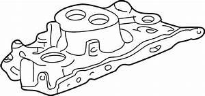 Chevrolet K1500 Engine Intake Manifold  Upper  Cylinder