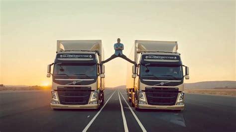jean claude van damme   split   volvo trucks