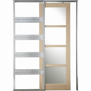 Porte A Galandage Double : syst me galandage artens 3 artens pour porte de largeur ~ Premium-room.com Idées de Décoration