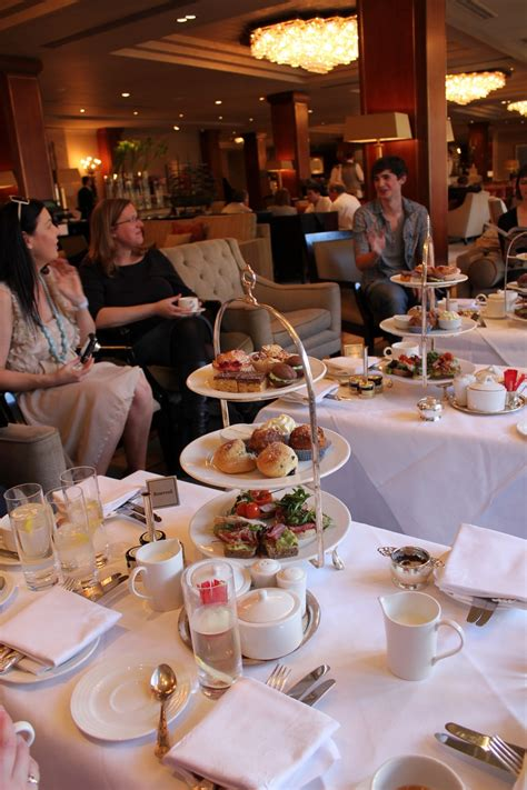 Afternoon Tea In The Westbury With Kitchen Hero Donal
