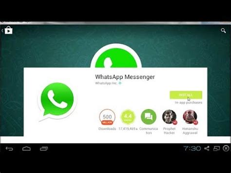 how to install whatsapp messenger pc 2018 windows 7 8 10 youtube