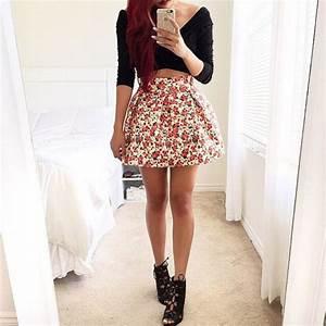 Skirt: tumblr, cute, pretty, style, fashion, tumblr outfit ...