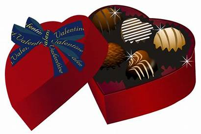 Chocolate Chocolates Box Clipart Valentine Heart Clip