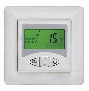 Heizung Thermostat Digital : berker thermostat digital klimaanlage und heizung ~ Frokenaadalensverden.com Haus und Dekorationen
