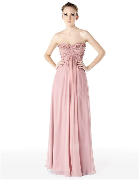 light pink cocktail dress china light pink strapless chiffon prom dress pd015