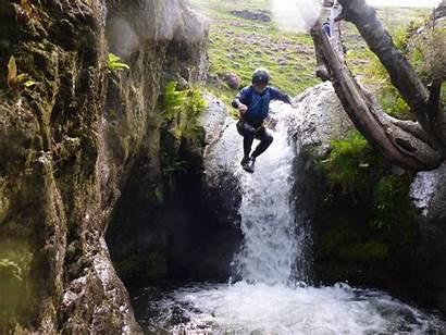 Scrambling Ghyll Keswick Walking Gorge Extreme