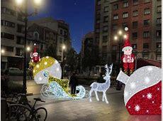 Luces de Navidad en Gijón La Nueva España