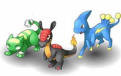 Starters Uranium Fan Pokemon