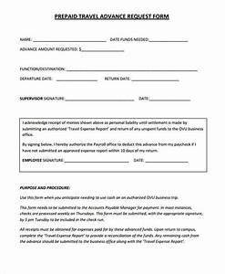 employee advance form payroll advance request form sample With cash advance policy template