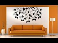 easy wall painting ideas Simple Living Room Wall Painting Ideas & Designs for ...