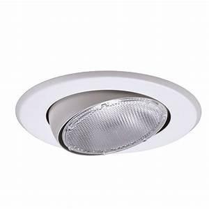 Halo lighting recessed lighting : Halo in white recessed lighting adjustable eyeball trim