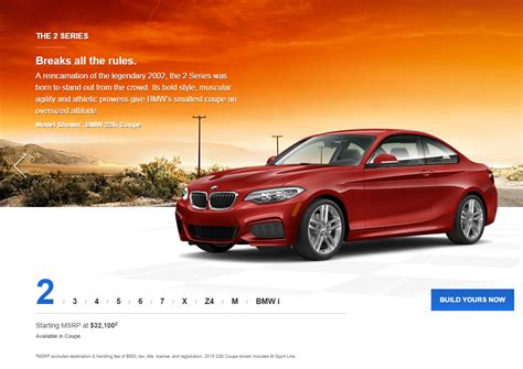 Bmw Usa Launches New Website