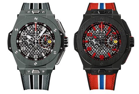However, instead of red accents, this watch now features yellow accents, another popular ferrari color. Hublot Big Bang Ferrari Unico Replica | Cheap Hublot Replica Watches For Sale Online