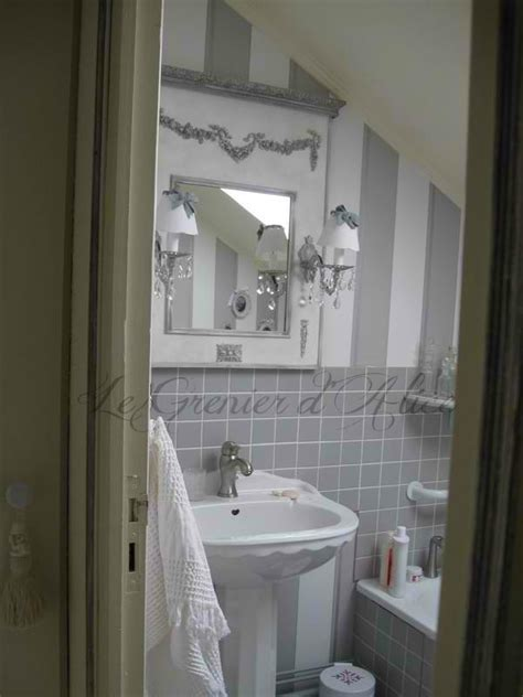 chambre shabby chic décoration salle de bain shabby chic