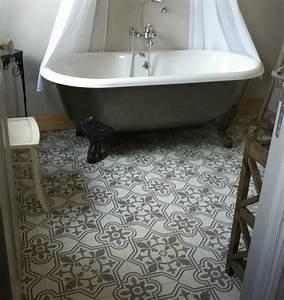 carrelage motif ancien gallery of carreaux anciens With carrelage salle de bain avec motif