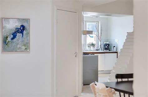 Beautiful Attic Apartment With Clever Design Features : Beautiful And Clever Design Of Stockholm Attic Apartment