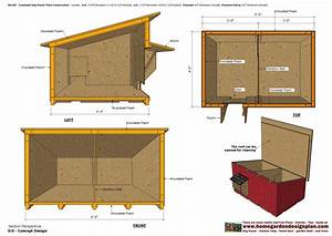 home garden plans dh100 insulated dog house plans dog With how to build an insulated dog house