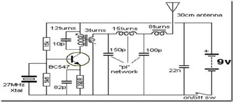 Radio Circuits Blog Mhz Transmitter