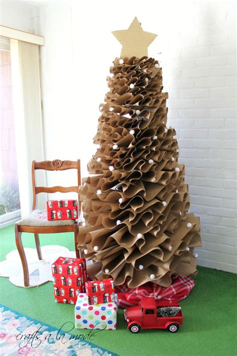 Diy To Try # Paper Christmas Tree  Ohoh Blog