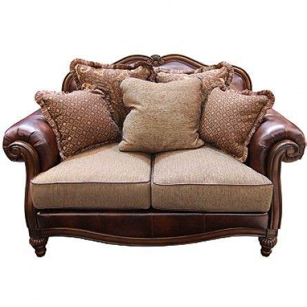 claremore antique sofa loveseat set claremore antique loveseat loveseat living room