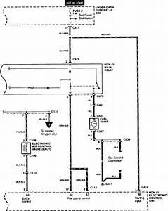 92 Si Fuel Pump Wiring Diagram