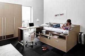 Lit Adolescent Garçon : chambres et lits pour jeunes adolescents ~ Dode.kayakingforconservation.com Idées de Décoration