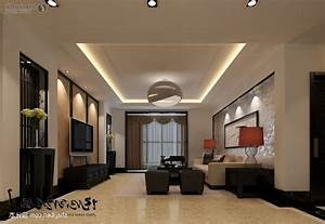 Gypsum board ceiling design for living room home combo for Gypsum ceiling designs for living room