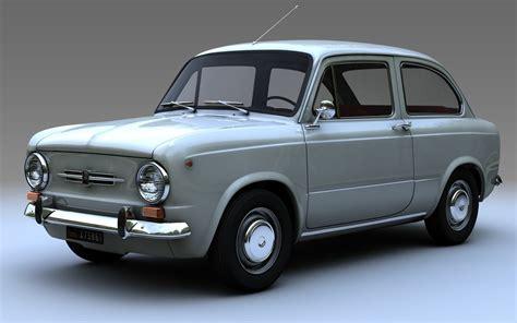 Fiat 850 Sedan by 3d Model Fiat 850 Limousine