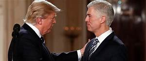 How Trump's Supreme Court Nominee Neil Gorsuch's Past ...