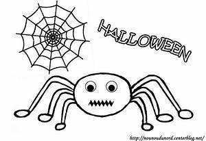 Dessin Facile Halloween : coloriage araign e d 39 halloween ~ Melissatoandfro.com Idées de Décoration