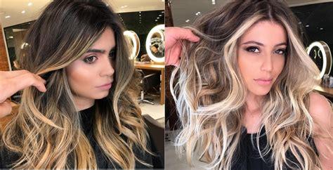 tendance couleur cheveux 2018 couleurs cheveux tendance en 2018 coiffure simple et facile