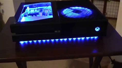 case modded xbox   color changing leds youtube