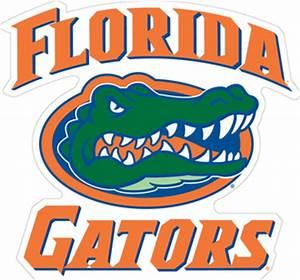 "12"" Florida Gators w/ Gator Head Vinyl Decal ..."