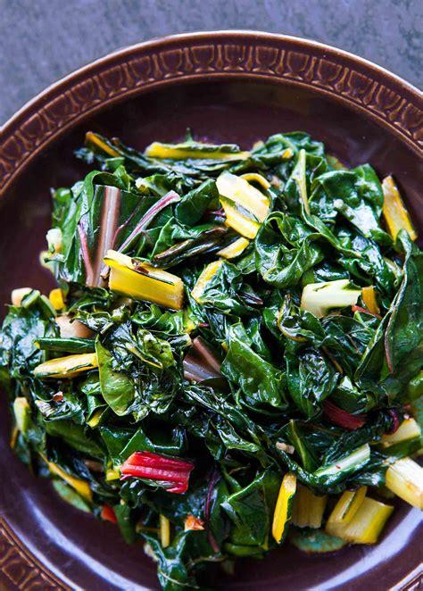 cuisine vegan easy swiss chard recipe simplyrecipes com