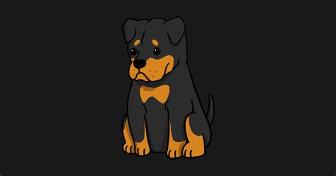 Pencil And In Color Rottweiler