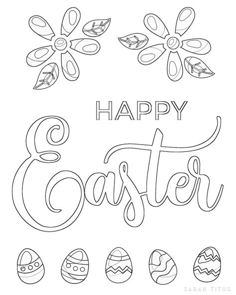 easter color sheets free printable easter coloring sheets titus