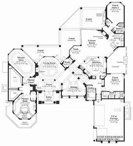 Sater, Design, U0026, 39, S, 6742, U0026quot, Sherbrooke, U0026quot, Home, Plan, From, Our, Luxury