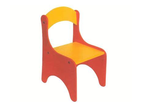 Sedia Colorata Per Bimbi, Smontabile, Per Scuola Dell