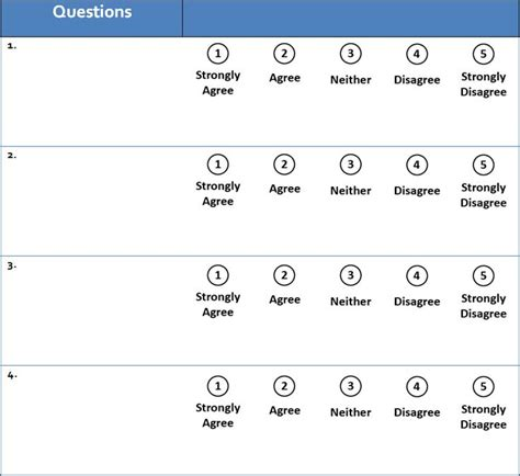 likert scale template 34 best remark software images on software and microsoft word