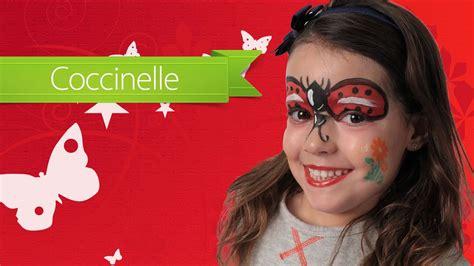 maquillage enfant maquillage enfant carnaval coccinelle