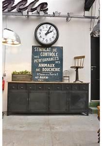 Decoration Industrielle Vintage : brocante d co vintage industrielle brocante campagne cuisine amenagement pinterest ~ Teatrodelosmanantiales.com Idées de Décoration